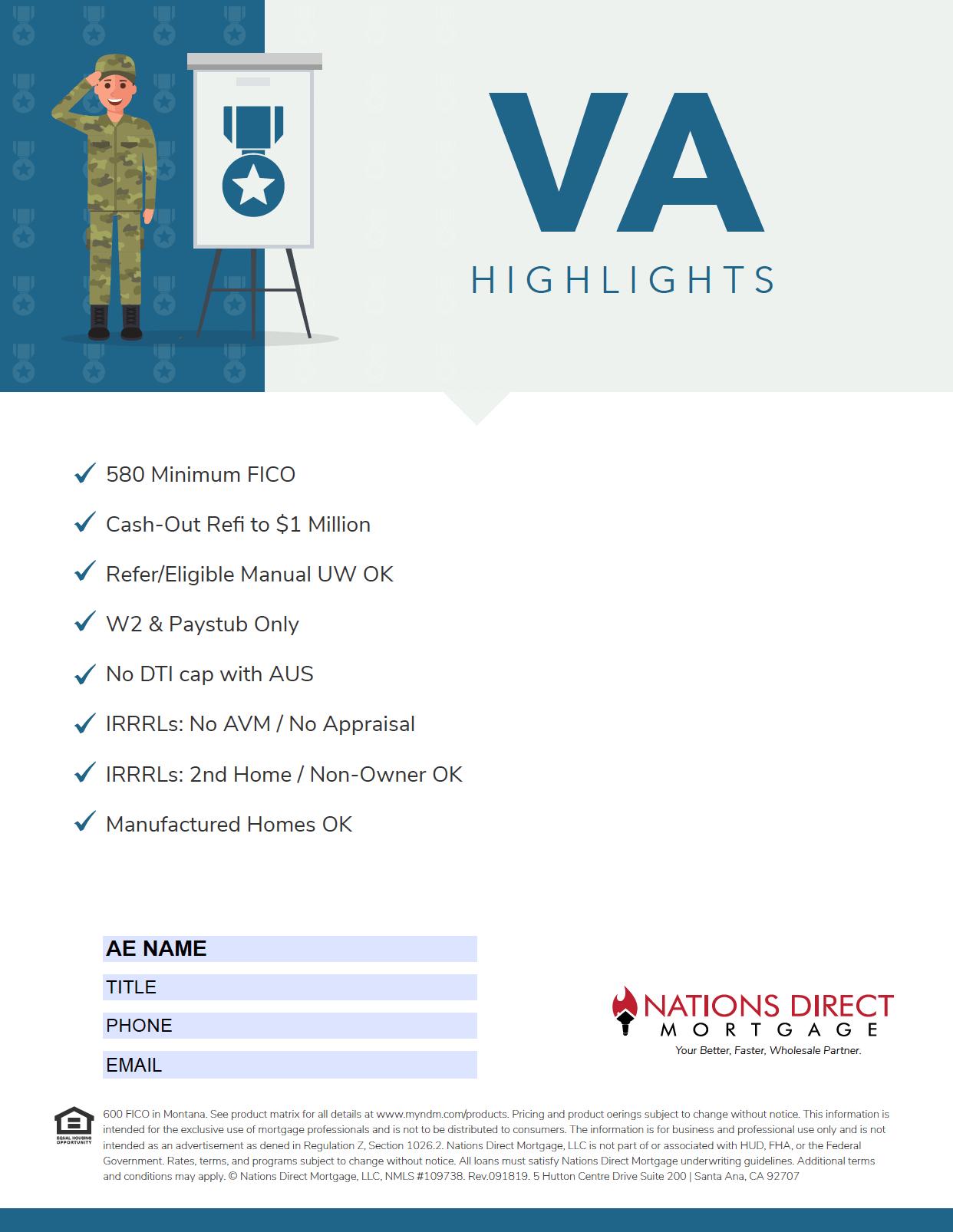 VA Flyer