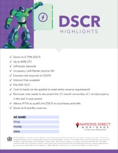DSCR Flyer Thumb
