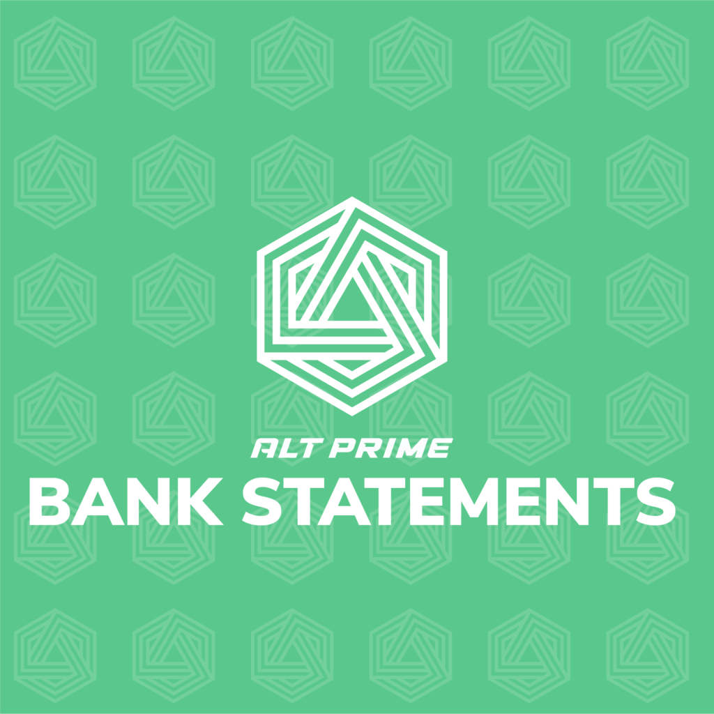 Bank Statement Block